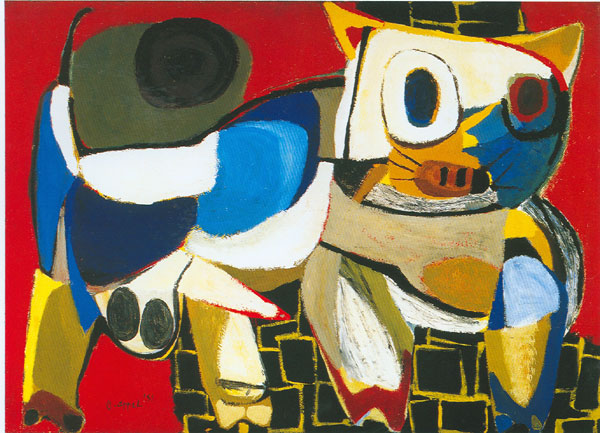 karel appel 1951