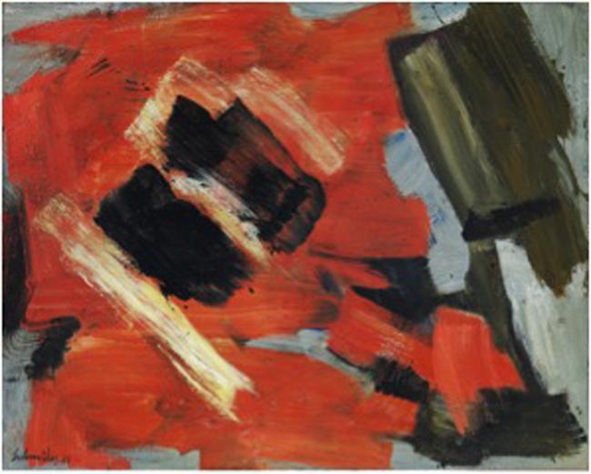 G rard schneider l abstraction lyrique comme asc se art for Abstraction lyrique